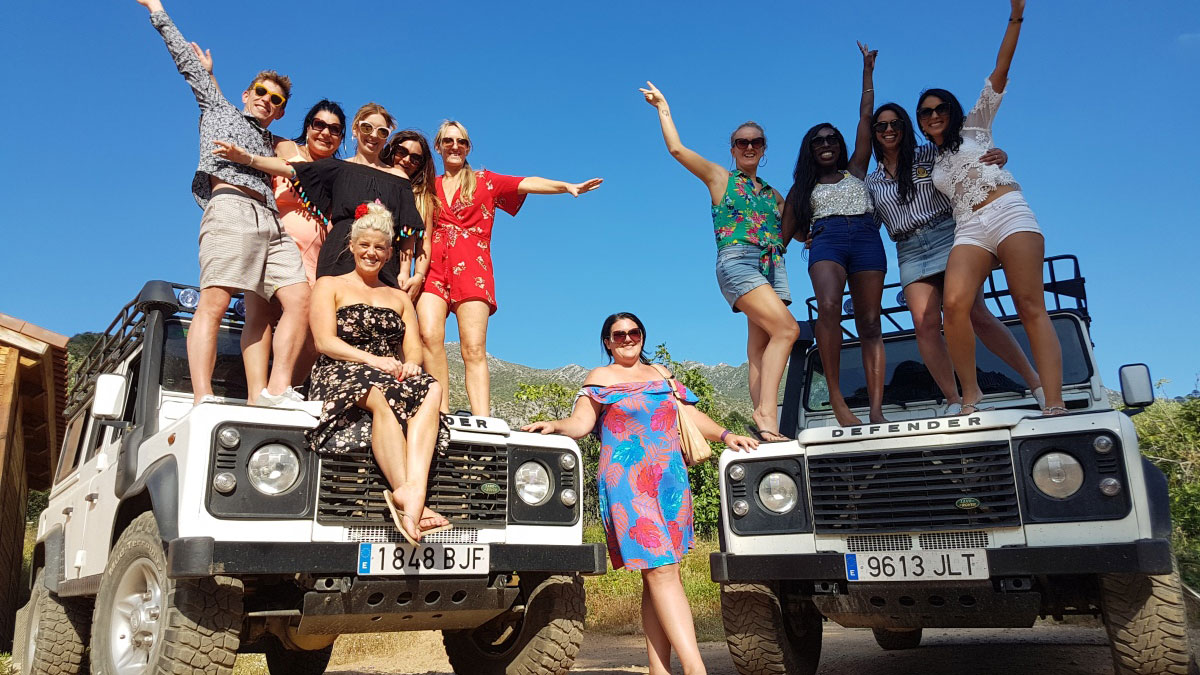 Hen and Stag Parties Marbella A packed day of activity and pure adrenaline 01 | Team4you