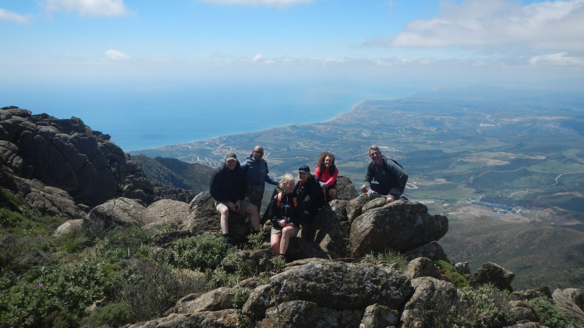 Trekking trip Málaga Costa del Sol Los Reales 02 | Team4you