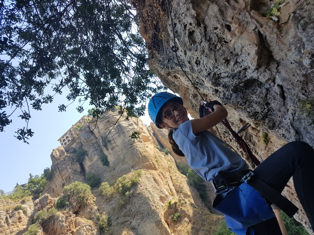VIA FERRATA basic mountain climbing skills 01 | Marbella Team4you