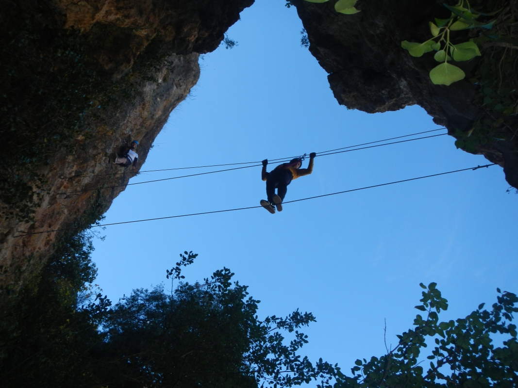VIA FERRATA Marbella A group effort and challenging activity 04 | Team4you
